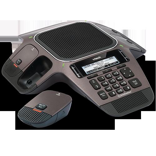 VTech ErisTerminal® VCS754 Conference Phone w/ Wireless Mics