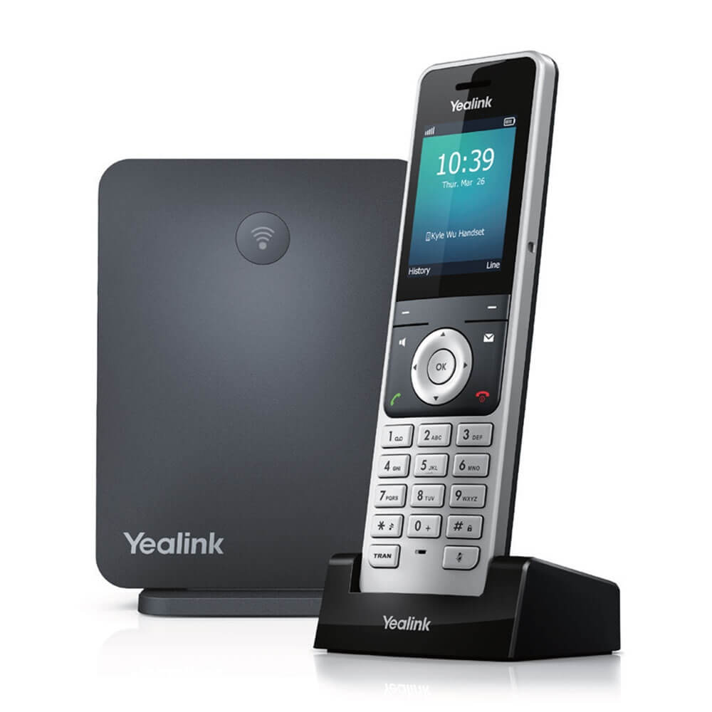 Yealink W60P Wireless Phone & Base Station